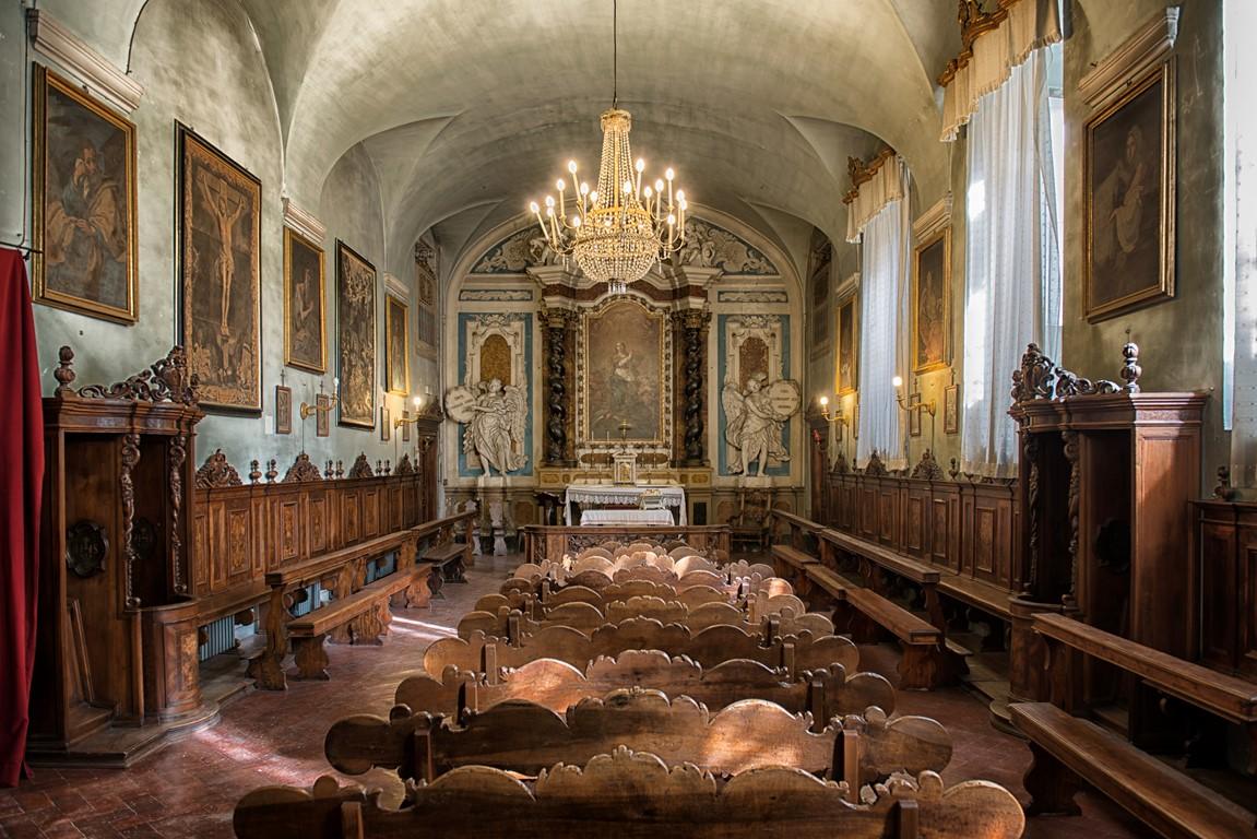 La cappella dell'istituto