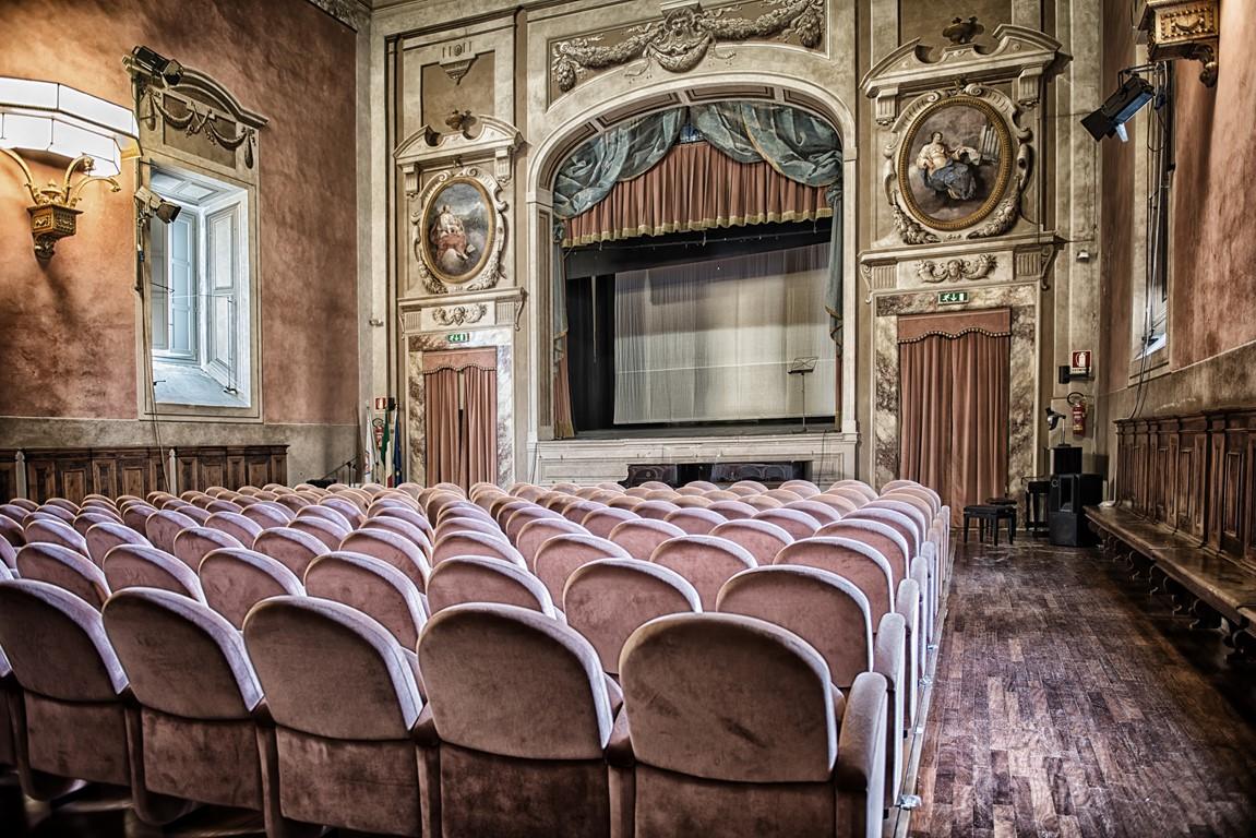 Il palcoscenico del teatro